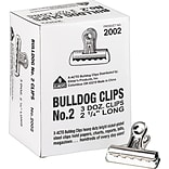 X-Acto® 2-1/4W Bulldog Clips, 36/Box
