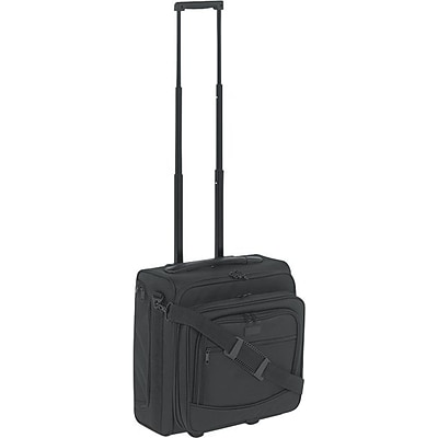 Kantek Overnight Luggage, Computer Case/Overnighter, 15