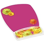 3M Mousepad Wristrest Daisy Design