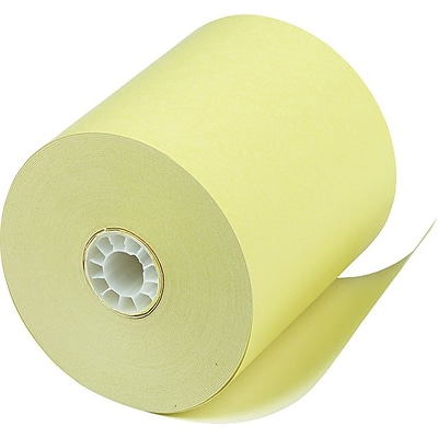 PM Company® Canary Direct Thermal Printing Cash Register/POS Paper Roll, 3 1/8(W) x 230(L), 50/Ctn