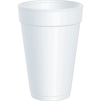 Dart® 16J165 Hot/Cold Cup, 16 oz. 500/Case