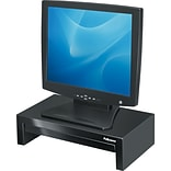 Fellowes Designer Suites 8038101 Riser for 21 Monitor, Black/Pearl