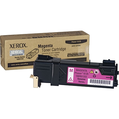 Xerox Phaser 6125 Magenta Toner Cartridge (106R01332)