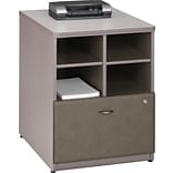 Bush Cubix 24 Pewter Storage Unit