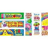Trend Enterprises 2x 6 Reading Fun Variety Pack #2 Bookmark Combo Pack, 216/Pack
