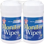 Falcon® Dust-Off® Anti-Static Screen/Monitor Cleaning Wipes; 2-Pack