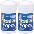 Dust-Off Anti-Static Screen/Monitor Wipes 2-Pack
