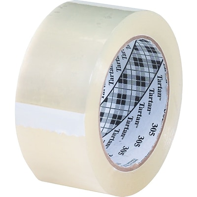 Scotch® #302 Acrylic Packaging Tape, 3x110 yds., 24/Case