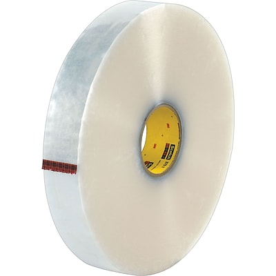 Scotch® #375 Hot Melt Packing Tape, 2x1000 yds., Clear, 6/Pack