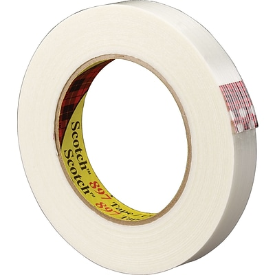 Scotch® Medium Grade Filament Tape, 0.94 x 60 yds., 36 Rolls (897)