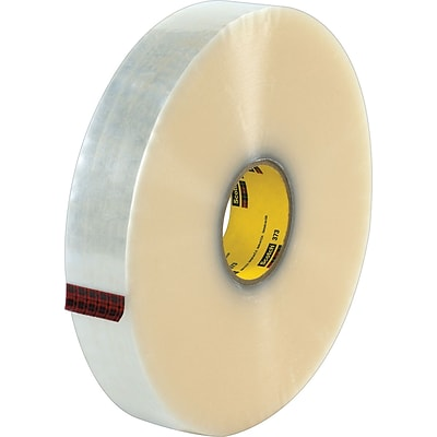 Scotch® #373 Hot Melt Packing Tape, 2x1000 yds., Clear, 6/Pack
