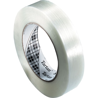 Scotch® Tartan #8934 Utility Grade Filament Tape, 3/8x60 yds., 96/Case