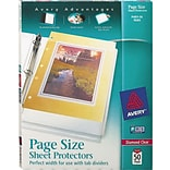 Avery Clear Page Size Sheet Protectors
