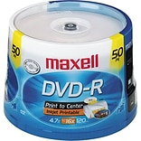 White 4.7GB 16x DVD-R Discs