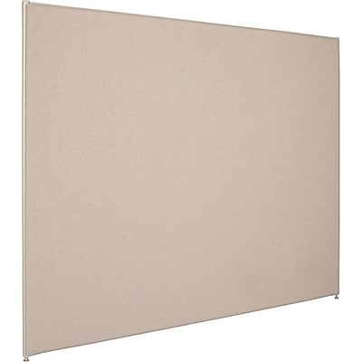 HON Verse Panel, 72W x 60H, Light Gray Finish, Gray Fabric (BSXP6072GYGY)