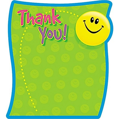 Thank You Note Pad; 5 x 5, 50 Sheets per Pad