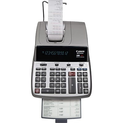 Canon MP25DV Desktop Printing Calculator