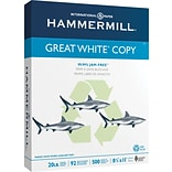 Hammermill® Great White® Copy 30 Paper, 8-1/2x11