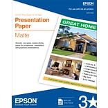 EPSON® 8-1/2x11 Inkjet Photo Paper