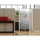 Quartet® Workstation Privacy Screen, 38 x 64, Rolling, Full Length