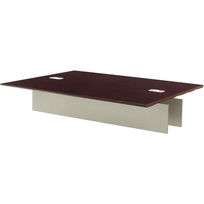 Tiffany Industries™ Napoli Executive Conference Tables in Sierra Cherry, Adder