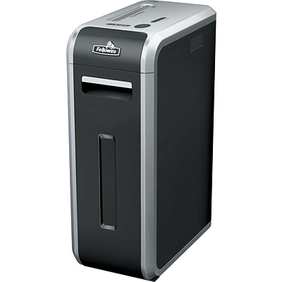Fellowes Powershred 125Ci 20-Sheet Jam Proof Cross-Cut Commercial Shredder