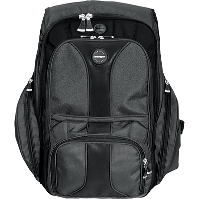Kensington® Notebook Computer Cases, Contour Backpack, Black