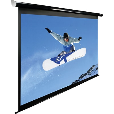 Elite Screens Spectrum Series 125 Diagonal 16:9 Aspect Mounted Motorized Projector Screen