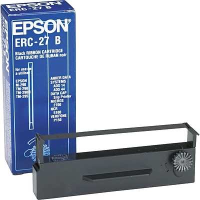 EPSON® ERC-03B Printer Ribbon for CTM-290/M-290/TM-290/TM-290II/TM-295, Black