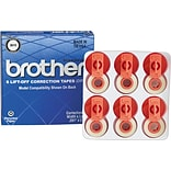 Brother® 3015 Lift-Off Correction Tape, 6-Pack