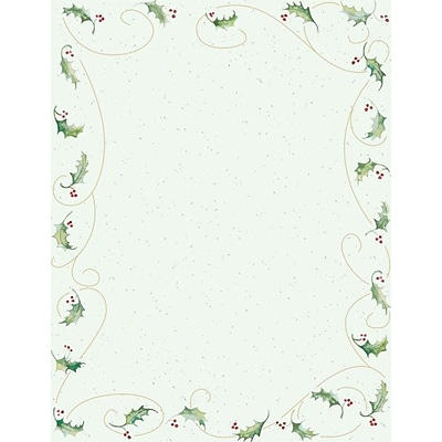 Great Papers® Holly Bunch Stationery