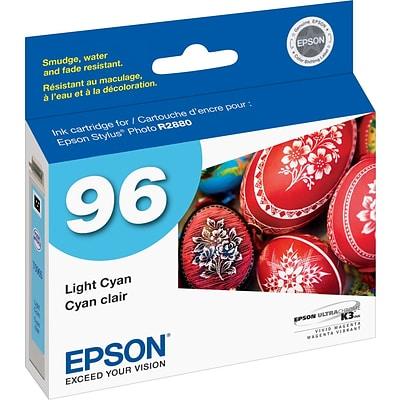 Epson 96 Light Cyan Ink Cartridge (T096520)