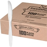 Dart® Guildware® Heavy-Weight Boxed Knife, White, 100/Box (GBX6KW-0007)