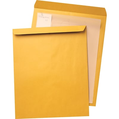 Quality Park® Jumbo Brown-Kraft Envelopes, 14x18, 25/Box