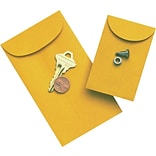 3-1/2x6-1/2 Kraft Coin Envelopes