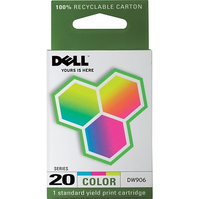 Dell Series 20 Color Ink Cartridge (DW906)