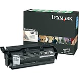 Lexmark T650H11A Black Return Program Toner Cartridge; High Yield