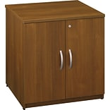 Bush 30 Oak Storage Cabinet