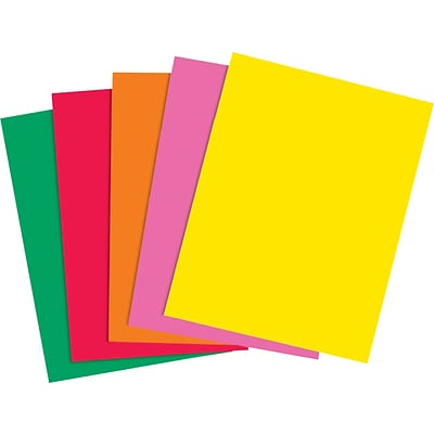 Brights 24 lb. Colored Paper, Assorted