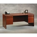 Sauder® Cornerstone Collection 70 Executive Desk, Cherry Finish