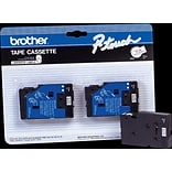 Brother TC 1/2 Label Tape Black/White