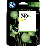 HP 940XL Yellow Ink Cartridge (C4909AN); High Yield