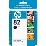 HP 82 Black Ink Cartridge (CH565A); 69ml