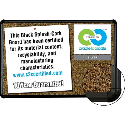 Best-Rite Eco-Friendly Cork Board, 4x8