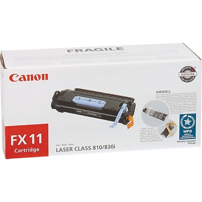 Canon FX-11 Black Toner Cartridge (1153B001)
