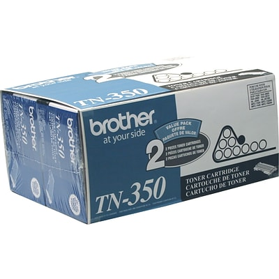 Brother Genuine TN3502PK Black Original Laser Toner Cartridges Multi-pack (2 cart per pack)