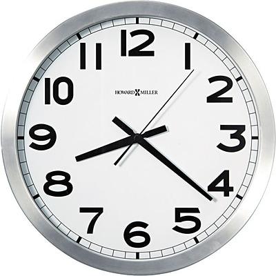 Aluminum Frame Wall Clock | Quill.com