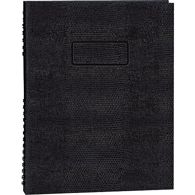 Rediform Executive Wirebound Notebook, 8 1/2 x 11, College/Margin Ruled, 200 Sheets/Book