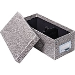 Lift-off-lid 5x8 Card File Boxes