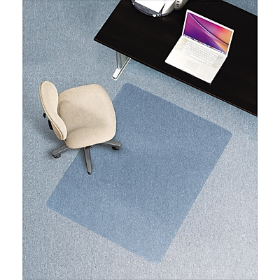 E.S. Robbins® Anchormat® Intermediate Chairmats, Rectangle, 46x60